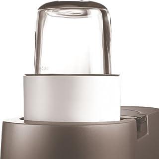 Kenwood AT320 Kräuter- und Gewürzmühle (mit 4 verschließbaren Glasbehältern, zerkleinern, mahlen, mixen, Küchenmaschinen-Zubehör, Geeignet für alle Chef Küchenmaschinen)