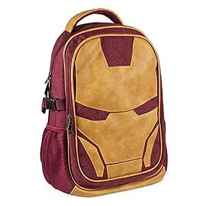 41yoTaPGffL. SS300  - ARTESANIA CERDA Mochila Casual Viaje Avengers Iron Man, Rojo, 47