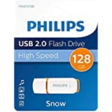 Philips Pendrive USB 2.0 128 GB - Snow Edition (Orange)