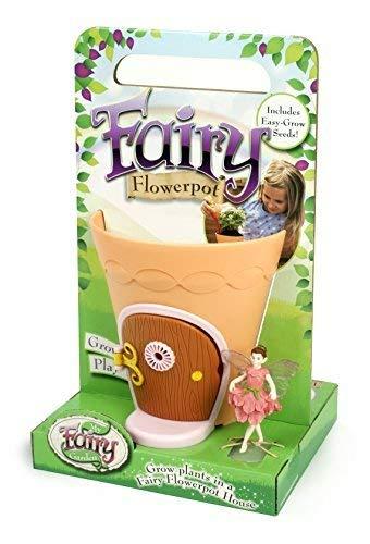 My Fairy Garden Fairy Flower Pot (Multi-Colour) by My Fairy Garden -