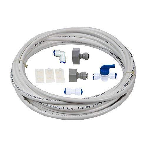 """VYAIR DA97-01469D Kit de instalación y conexión de filtro de agua para Samsung American Style Fridge con dispensador integrado de hielo y agua (incluye 5 metros de tubo de diámetro de 1/4\""""/ 6,4 mm)"""