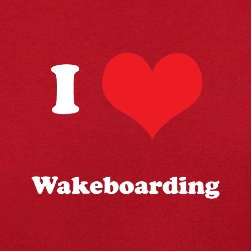 I Love Wakeboarding - Herren T-Shirt - 13 Farben Rot