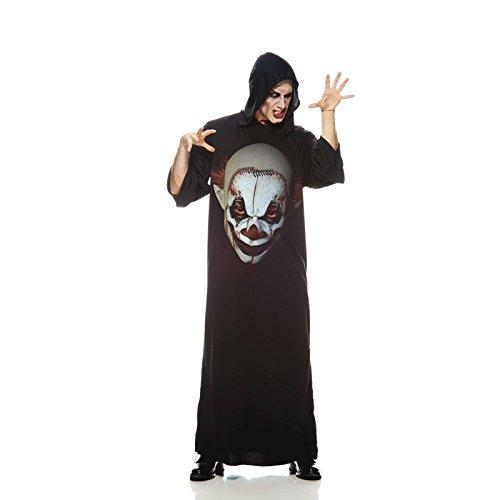 Unbekannt AEC-aq00740/STD-Kostüm-Tunika Clown der Schrecken, Einheitsgröße