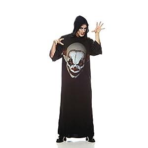 Aec-aq00740/STD-Disfraz de túnica Payaso de Horror, Talla única