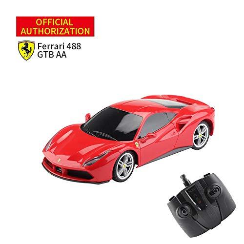 jinclonder RC Car, Ferrari-Simulation 1: 18Ferrari FXX K 4-Kanal-Ferngesteuertes Spielzeugauto mit Fernbedienung, 18-20 km/h