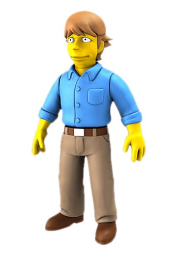 NECA Simpsons 25th Anniversary - Mark Hamill 12,5 cm Action Figure Series 2 1