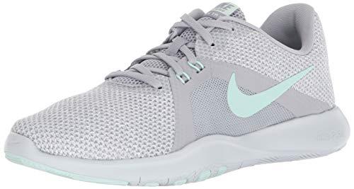Nike Damen W Flex Trainer 8 Fitnessschuhe Grau (Wolf Grey/White/Pure Platinum/Igloo 003) 40 EU