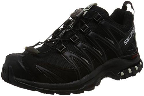 Salomon Xa Pro 3d Gtx W, Chaussures de Trail Femme Multicolore (Black/gy)