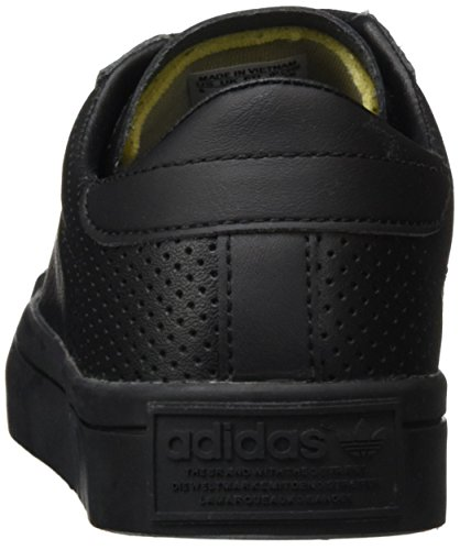 adidas Unisex-Erwachsene Court Vantage Low-Top Schwarz (Core Black/Ftwr White/Core Black)
