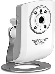TRENDnet - Caméra Internet Jour/Nuit sans Fil N Mégapixel HD, TV-IP572WI