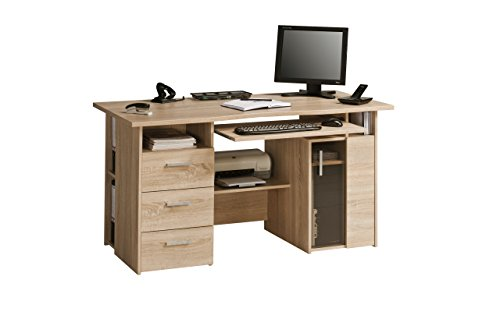 Cheapest Price for Maja Capital Oak Computer Desk on Amazon