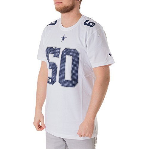 NEW ERA Dallas Cowboys - T-Shirt - NFL Number Classic Tee - White - L