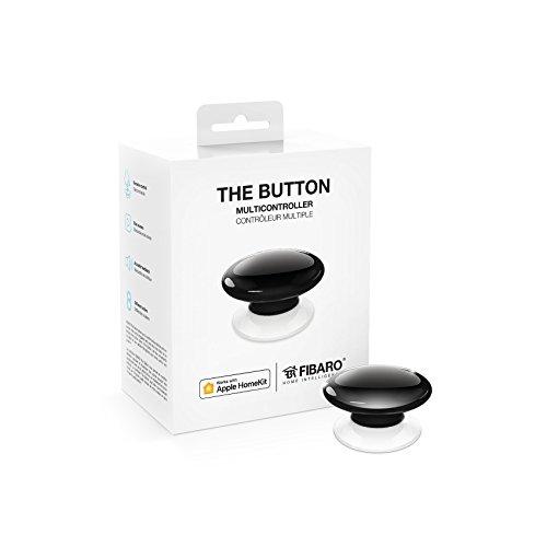 Preisvergleich Produktbild Fibaro The Button,  Homekit Enabled multicontroler (Black)