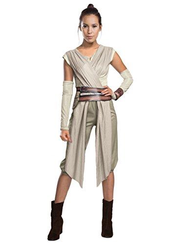 Adult Deluxe Star Wars Ep. 7 Rey Fancy dress costume X-Large (Rey Star Wars Kostüm Mädchen)