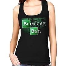 35mm - Camiseta Mujer Tirantes Breaking Bad - Series - Tv - Women'S Tank Top