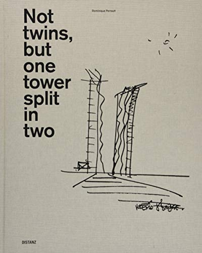 Not twins, but one tower split in two por Dominique Perrault