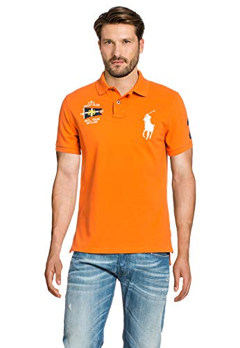 Polo Ralph LaurenCUSTOM FIT - Poloshirt - resort orange
