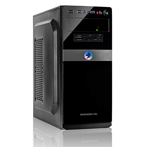 Memory PC Intel i5-8400 6X 2.8 GHz, 16 GB DDR4, 240 GB SSD + 2000 GB,Windows 10 Pro 64bit