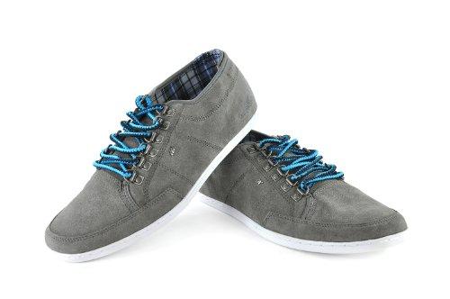Boxfresh Sparko D-Ring Suede chaussures gris bleu
