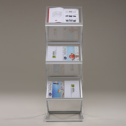 Loywe faltbarer Prospektständer Katalogständer LW3527