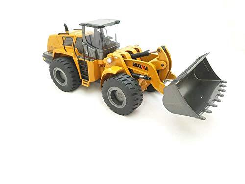 RC Auto kaufen Baufahrzeug Bild 4: FM- Electrics FM1583| Die Cast Metall-Radlader mit Sound 1:14 mit 10 Kanal Sender Huina 583*