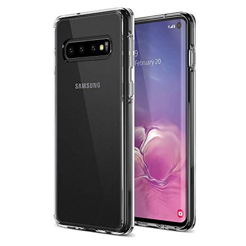wsky Handy Hülle für Samsung Galaxy S10, Crystal Clear Dünn Schutzhülle, Kratzfest Durchsichtige Case Cover, Hohe Zähigkeit Soft TPU Silikon Hülle, Weich Transparent Handyhülle für Samsung Galaxy S10 Schutzhülle Silikon Cover