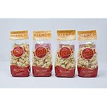 SoFì - Pasteles de arroz inflados cubiertos de chocolate blanco - 4 paquetes de 90 g