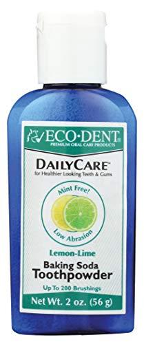Eco-Dent (Formerly Merflaun) Toothpowder, Lemon/Lime 2 Oz