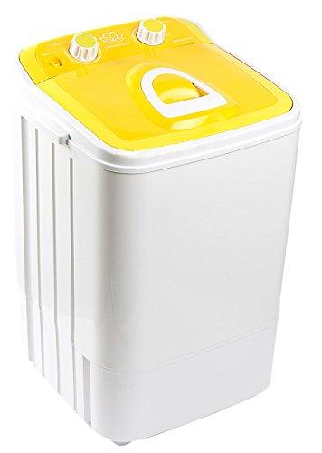 Dmr 46-1218 Single Tub Washing Machine With Steel Dryer Basket (4.6 Kg, Yellow)