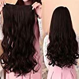 Best Extensions For Hairs - Alizz wavy brown silky hair extensions for women Review