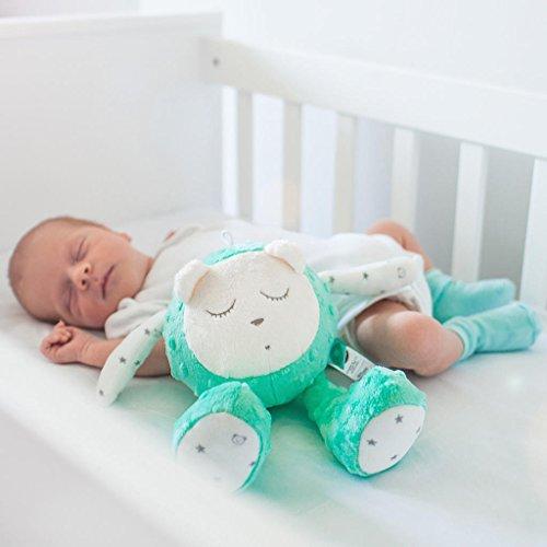Jouet pour bébé MyHummy SZUMISIE - Jouet de nuit apaisant avec capteur de pleurs et système...