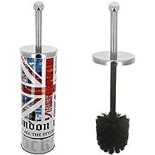 Londres -Brosse De Toilettes WC Déco Londres Design Drapeau Tendance Rock