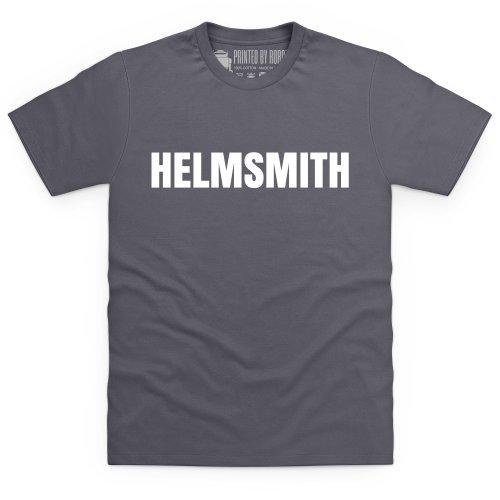 Sniff Petrol Helmsmith T-Shirt, Herren Anthrazit