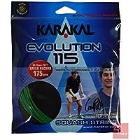 Karakal Evolution 115Squash cuerdas 10m set, verde
