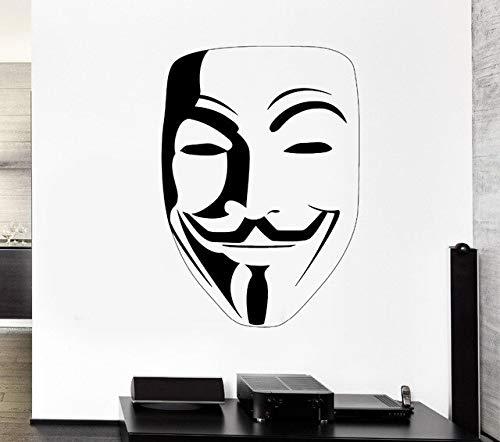 yiyitop Neue Ankunft DIY tapete Halloween v Aufkleber für Vendetta Aufkleber Poster Vinyl wandkunst wohnkultur wandbild st 72 * 56 cm