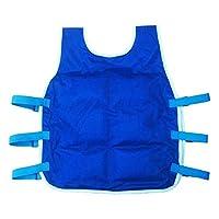 Augproveshak Adult Cooling Vest, Ice Pack Vest for Summer Outdoor Hiking Riding Fishing Adjustable Cooling Vest for Men and Women