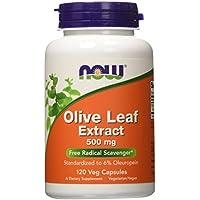 Preisvergleich für Now Foods, Olivenblatt Extrakt (Olive Leaf Extract), 500mg, 120 vegetarische Kapseln