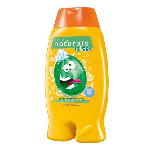Avon Naturals Kids Wacky Shampoo und Conditioner, Wassermelone 250ml -