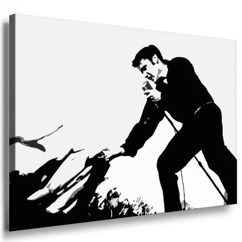 Bilder Kunstdrucke / Boikal / Bild mit Keilrahmen Elvis Presley 100x70 cm xxl.293