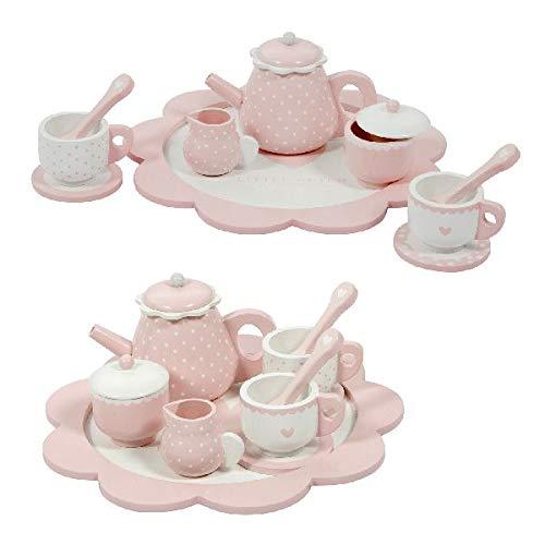 Little Dutch-LD4381 Teeservice für Kinder, Spielzeugset, Mehrfarbig, Artikelnummer 4381