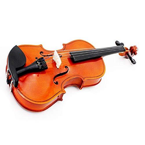 AITU Violine Größe 1/2 Natural Violine Steel String Bow Kinder Anfängerbogen (Kind Größe Violine)
