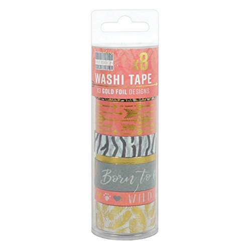Washi Tapes, Paper, Multi-Colour, 17 x 5 x 5 cm ()