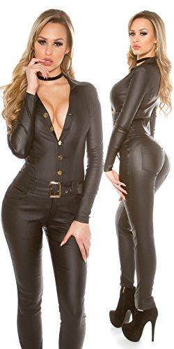 In-Stylefashion - Combinaison - Femme noir noir L Noir