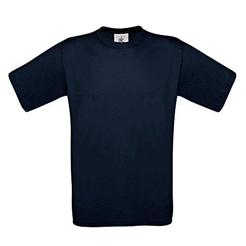 B&C - T-Shirt 'Exact 190' 4X-Large,Navy (4x T-shirt)