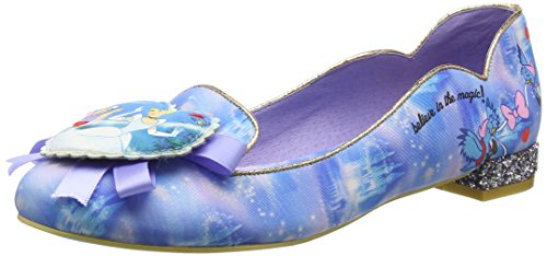Irregular Choice Believe In Magic, Escarpins femme Bleu - Bleu (Bleu)
