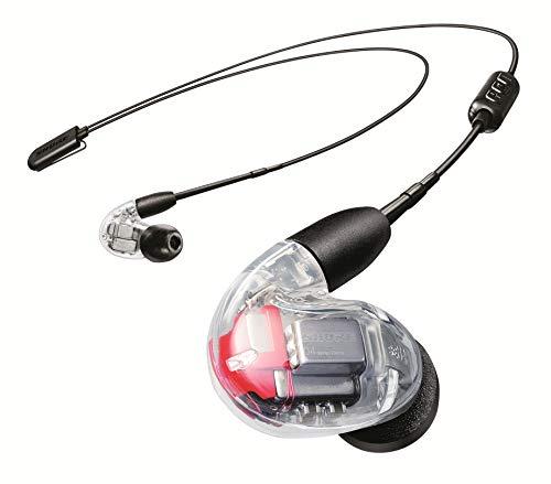 Shure SE846 Bluetooth 5.0 In Ear Kopfhörer mit Sound Isolating Technologie und Mikrofon für iPhone, iPad & Android - Premium Kabellos Ohrhörer mit warmem & detailreichem Klang - Klar thumbnail