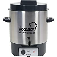 Koch Star Esterilizador para conservas Acero Inoxidable Azul Ultrasonido con válvula