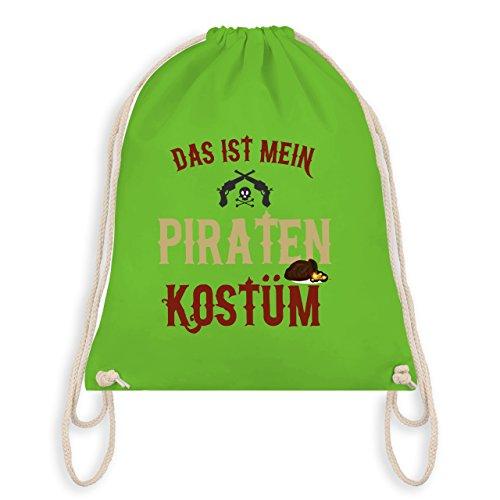 Anlässe Kind - Das ist mein Piraten Kostüm - Unisize - Hellgrün - WM110 - Turnbeutel I Gym (Kostüme Piraten Grüne)