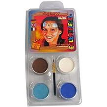 Búho Espejo 204481–Juego de diseño de indio