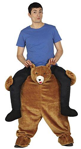 (Guirca Kostüm Erwachsene Carry Me Bär, Größe 52–54(88286.0))
